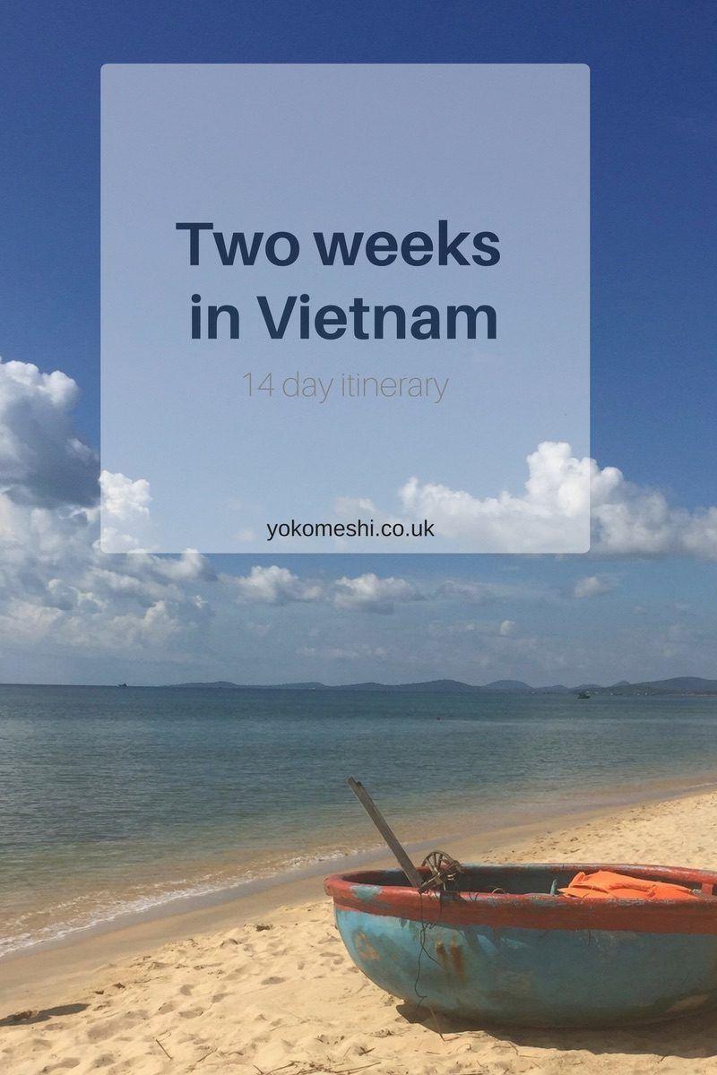 A perfect two week itinerary for Vietnam www.yokomeshi.co.uk