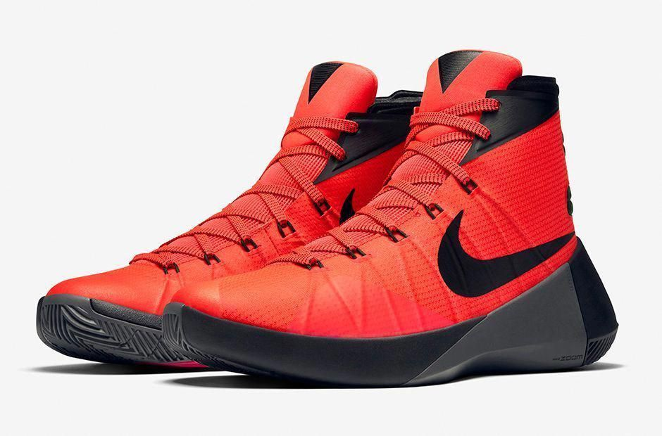 huge selection of 5800f 7ca3a Nike HYPERDUNK 2015 Bright Crimson Red Black Grey 749561-600 Basketball  Shoes 10  Nike  MensBasketballShoes  BestBasketballShoes