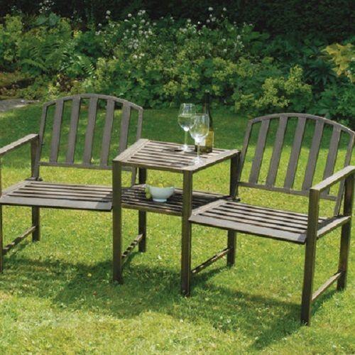 2 seater steel love seat garden patio antique bronze finish rustic chairs chair - Garden Furniture Love Seat