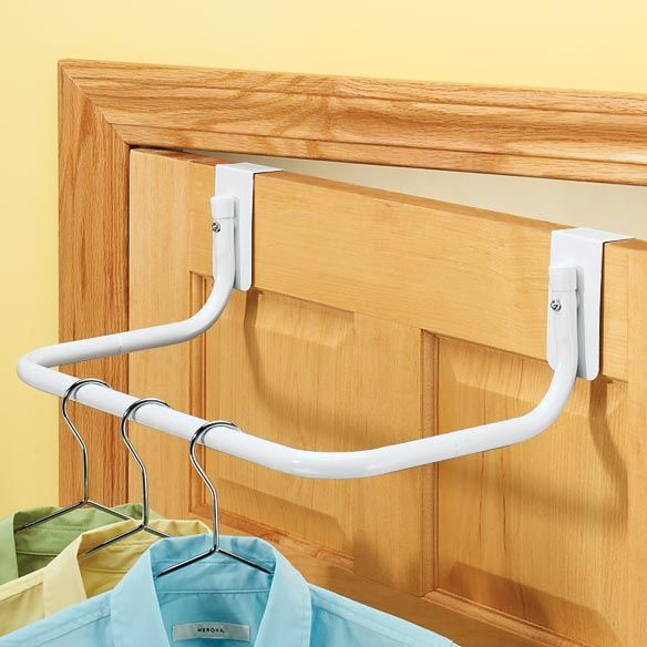 Over The Door Closet Rod Clothes Rod Closet Rod Over The Door Hanger