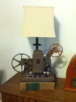 My Take On The Vintage Movie Projector Lamp Vintage In 2019 Projector Lamp Vintage Movies Movie Projector