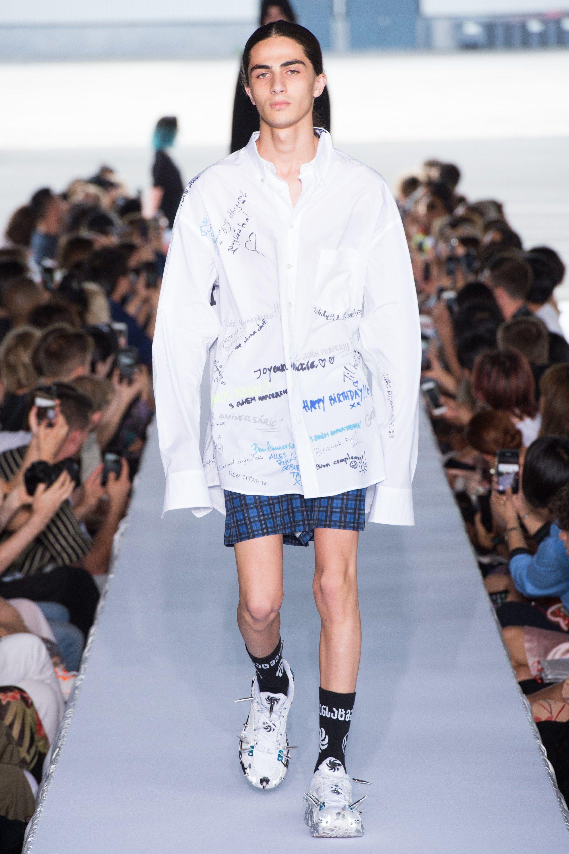 Vetements Spring 2019 Menswear Fashion Show | Menswear ...