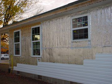 Microvent Under Vinyl Siding Insulation And Radiant Barrier Green Building Products