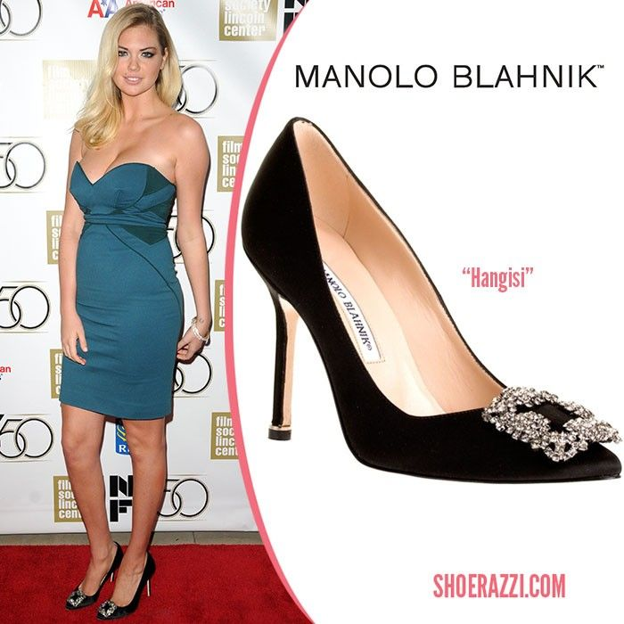 a2a01b1a54ca 27 Looks with Hangisi Manolo Blahnik. Glamsugar.com Kate Upton ...