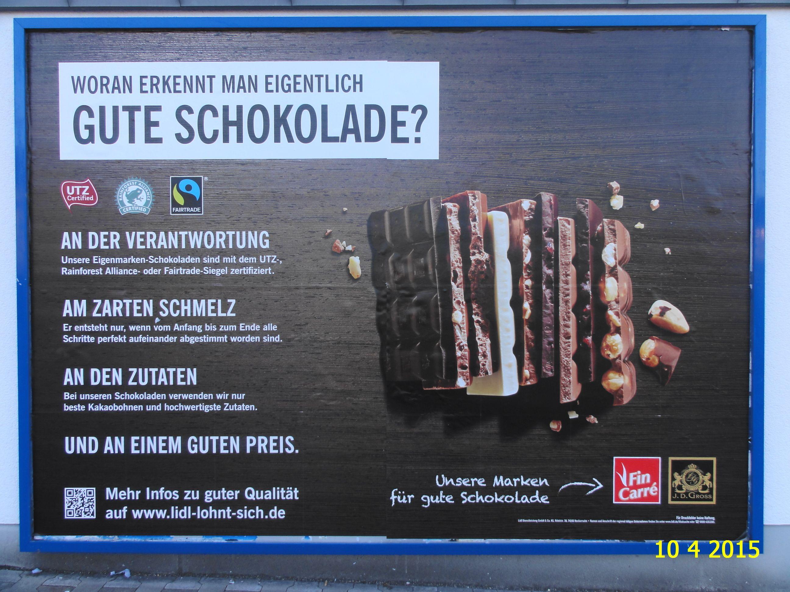 533. - Plakat in Stockach. / 10.04.2015./