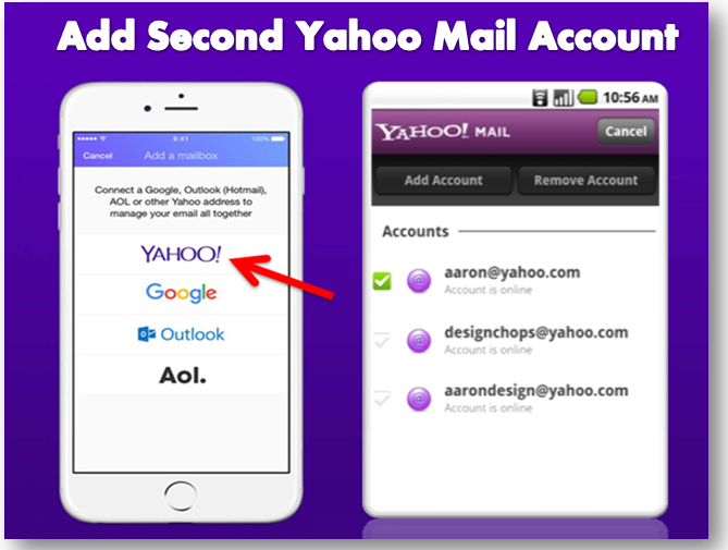 Add Second Yahoo Mail Account On Android Device Mail Account