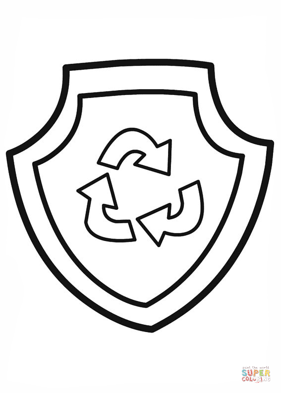 Paw Patrol Rockys Badge Coloring Page Png 567 794 Paw Patrol Coloring Paw Patrol Coloring Pages Paw Patrol Rocky