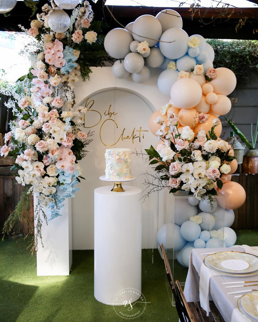 The Treasure Room Event Hire On Instagram A Beautiful Gender Neutral Baby Showe Flower Baby Shower Theme Baby Shower Balloon Arch Gender Reveal Decorations