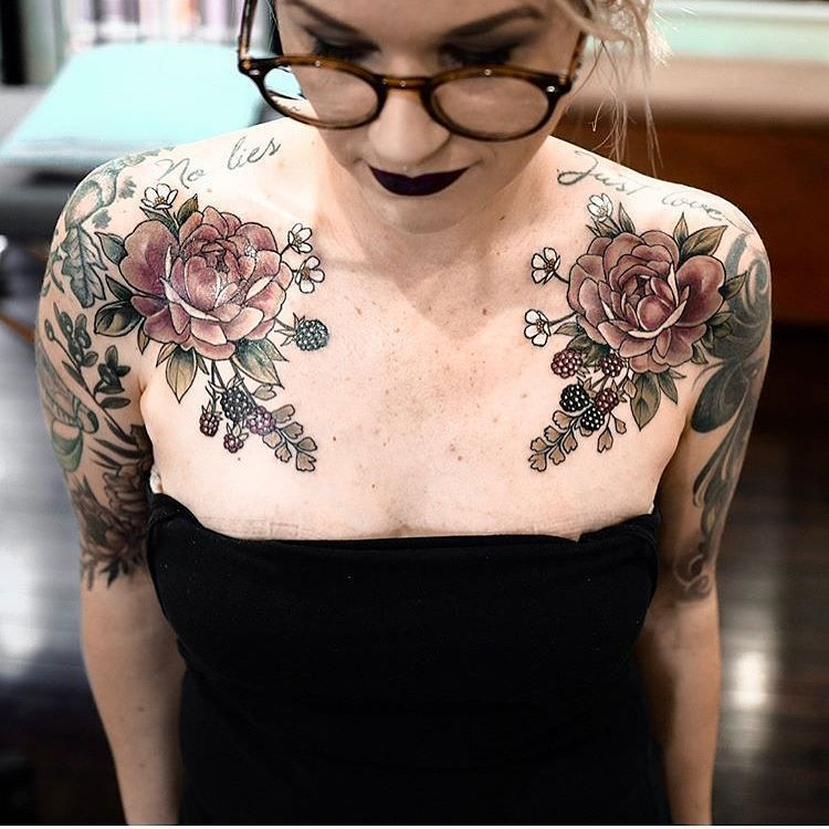 24++ Astonishing Small girly chest tattoos ideas
