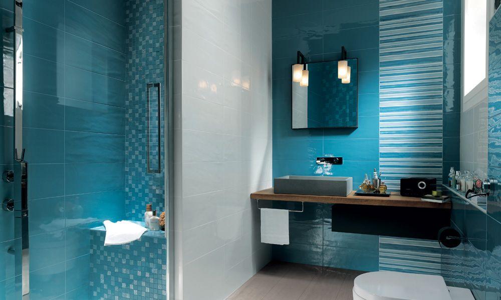 Reed harris havana white tile u and maybe blue ensuite ideas