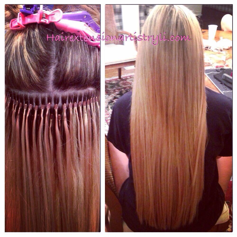 Microlink hair extensions!