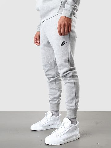 fdf8fbab5a3d Nike - Tech Fleece Pant 1MM Dark Grey Heather Medium Grey Black 545343-064