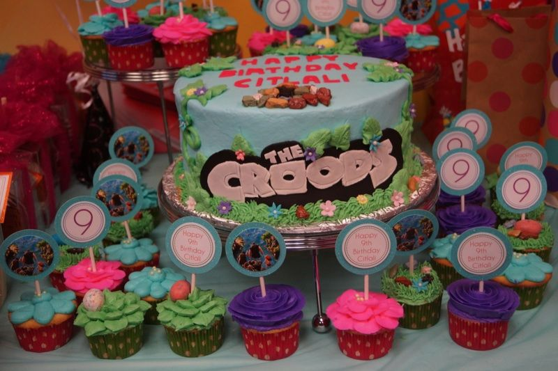 The Croods Cake So Cute For Aaliyahs Birthday Since The Croods Is