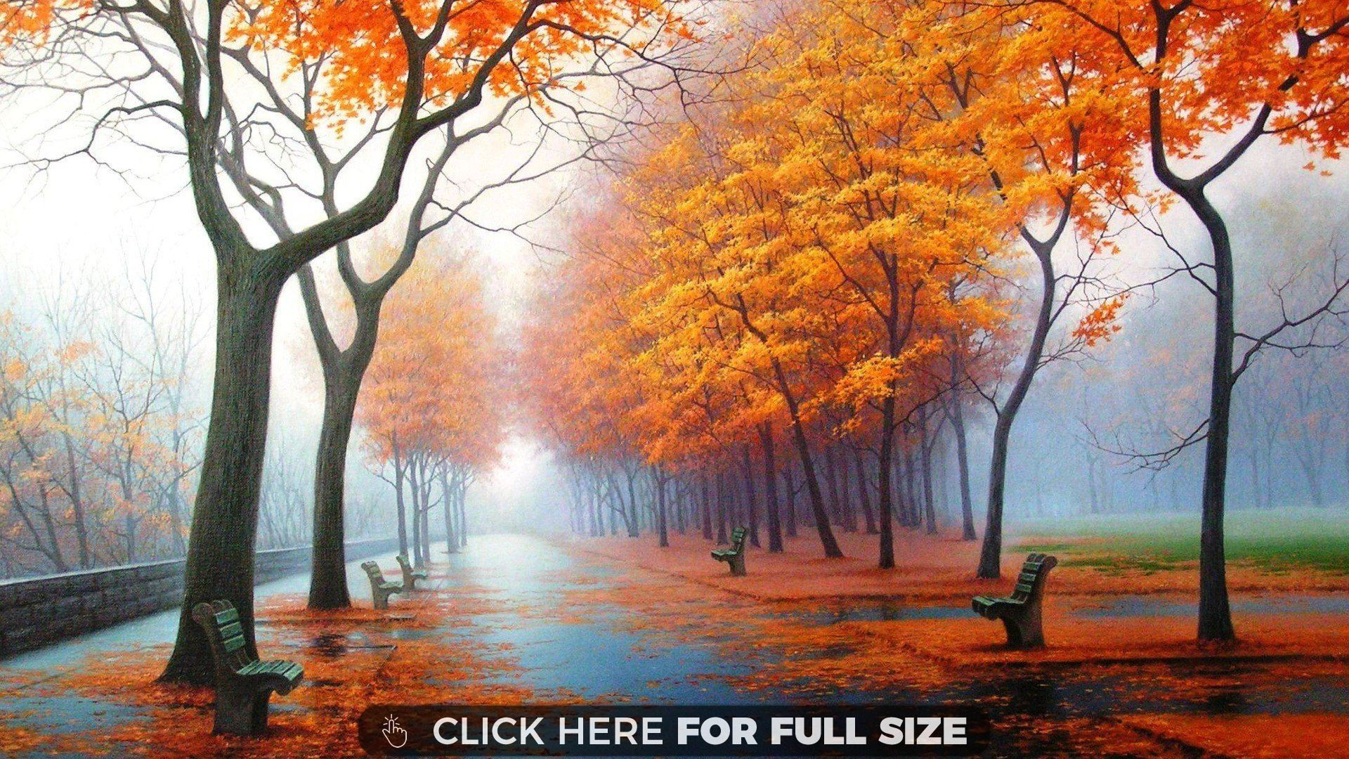 autumn trees pure hd | desktop wallpapers | pinterest | painting