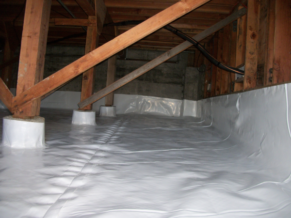 Water Proofing Right Moisture In Your Crawl Space