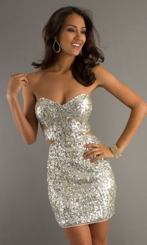 Sequined Sequins Dress Pd3b38 Prom Sweetheart Tight Backless ulKJT1c3F