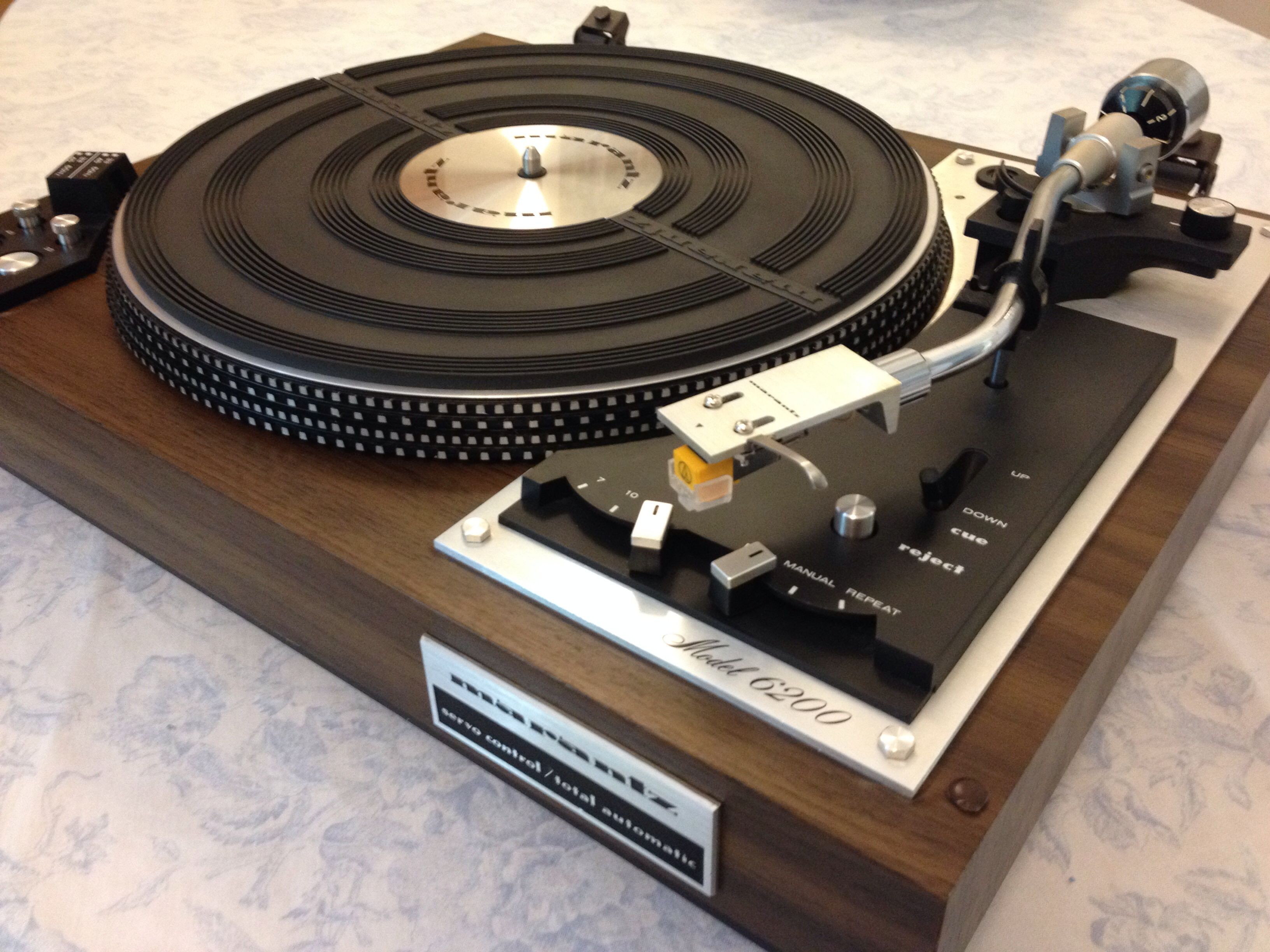 Marantz 6200 Turntable Record Player Turntable Record Player Record Players Vintage Electronics