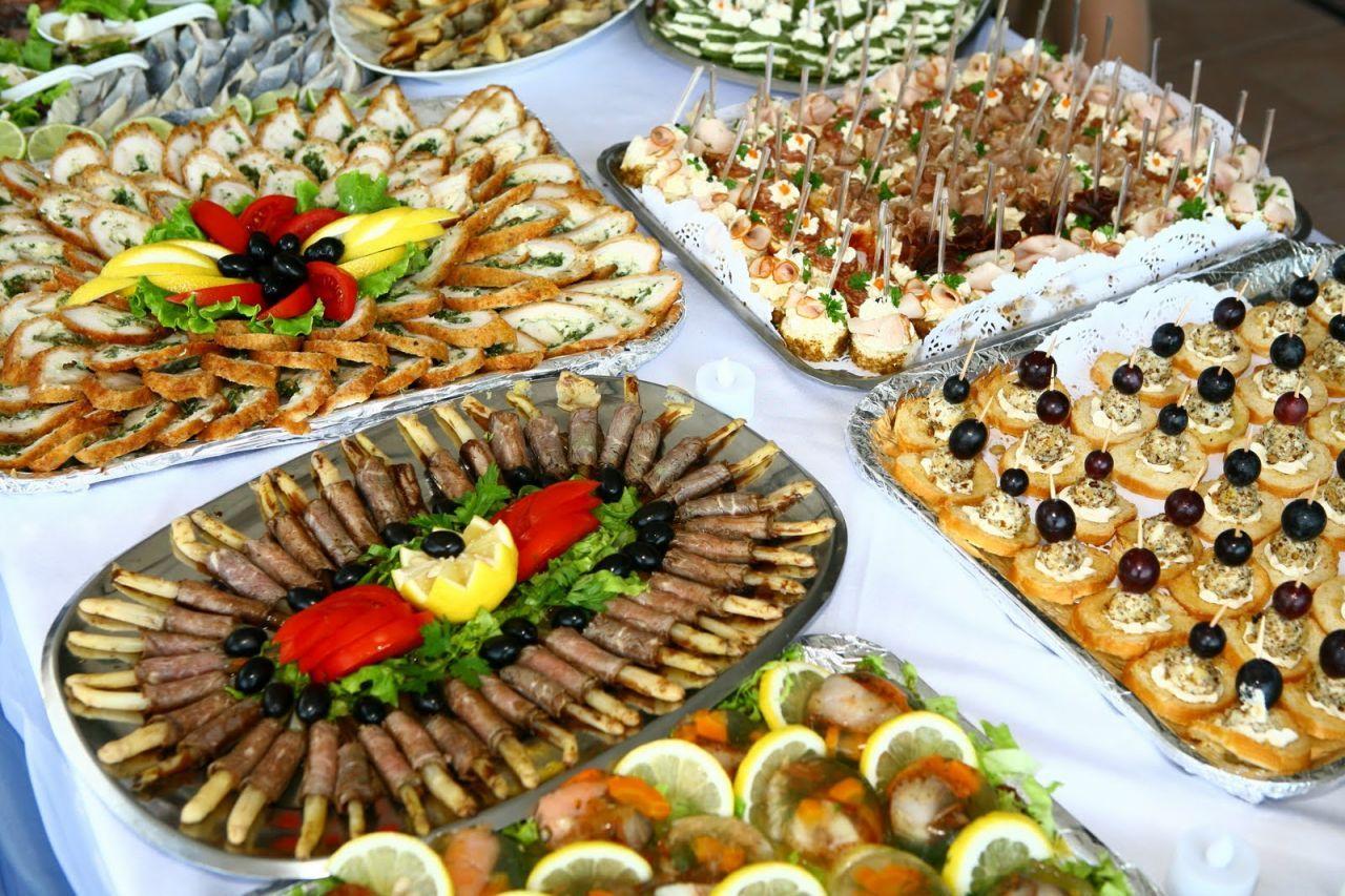 food for Christmassanta belt party Finger Food Table