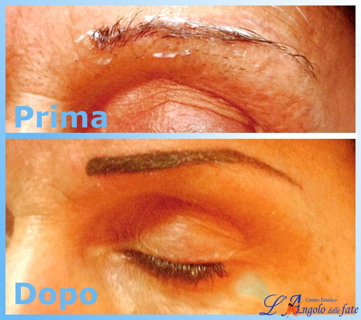Prima e dopo #trucco #semipermanente. Questa tecnica permette di avere sempre un #look curato ed un ottimo supporto al #makeup quotidiano!