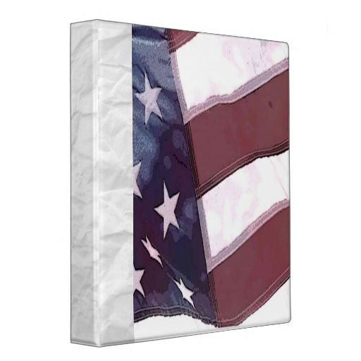American Scrapbook Vinyl Binders July 4th Independence Day Home