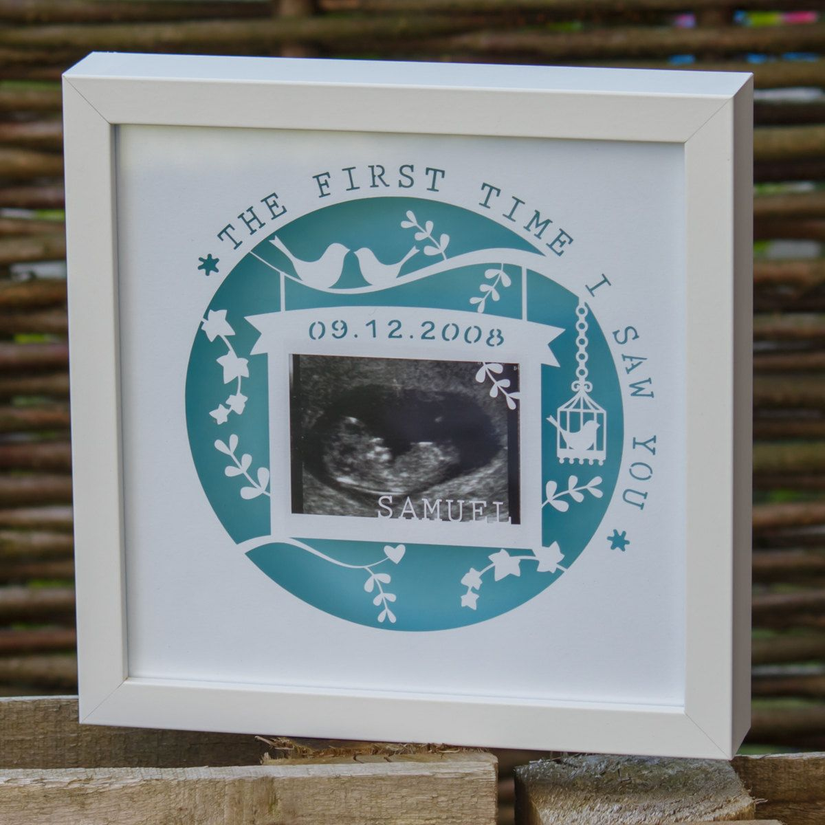 Personalised baby scan papercut perfect gift for a new baby arrival personalised baby scan papercut perfect gift for a new baby arrival by imakeuk on negle Gallery