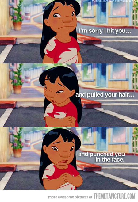 Lilo and Stitch...how can you not love her?!?