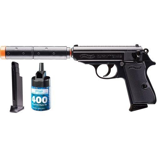 umarex walther ppk s operative spring airsoft pistol combat kit rh pinterest com Walther PPK James Bond Edition Walther PPK Silencer