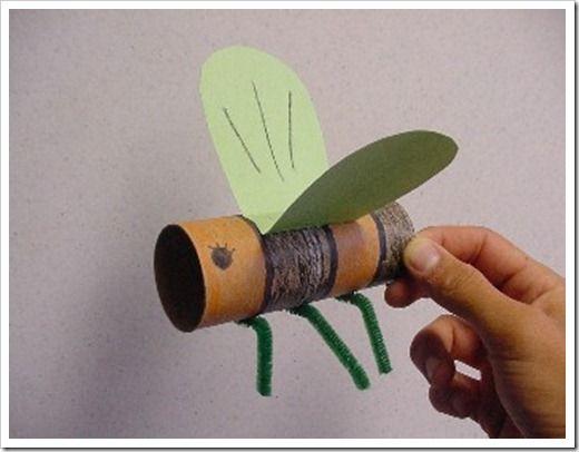manualidades tubo de papel higienico (1) rollo papel Pinterest
