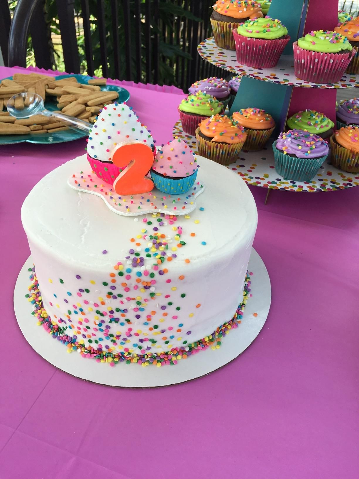 Amazon com: Edible Confetti Sprinkles Cake Cookie Cupcake