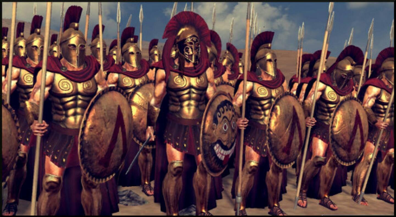 Image Gallery Spartan Phalanx