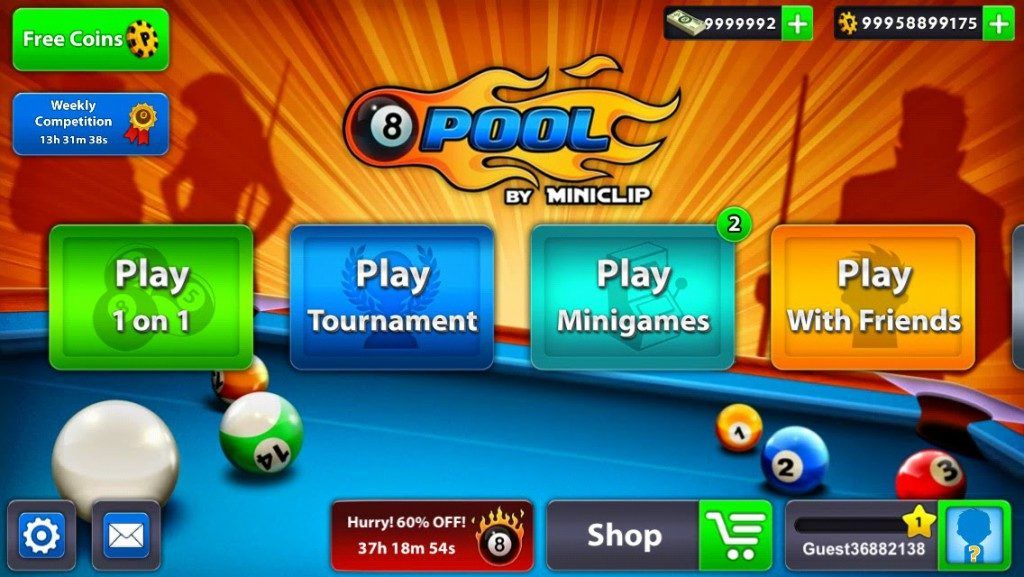 Pin by cheat nhacks on 8 BALL POOL HACK in 2019 | Pool coins ... -