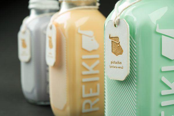 Water Buffalo Milk Packaging - Reiki Organic