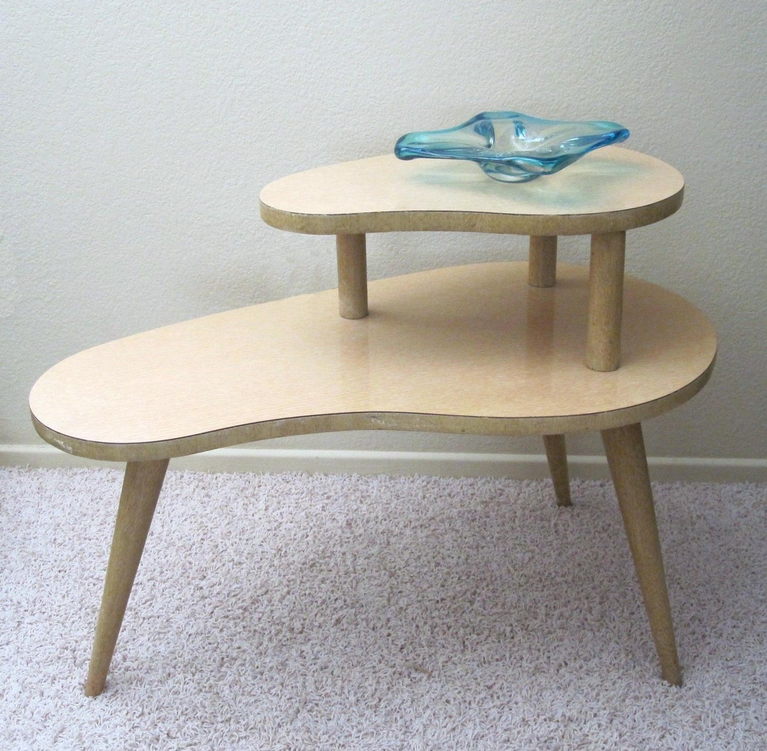 2 tier Kidney Table My Grandparents had one of these in their