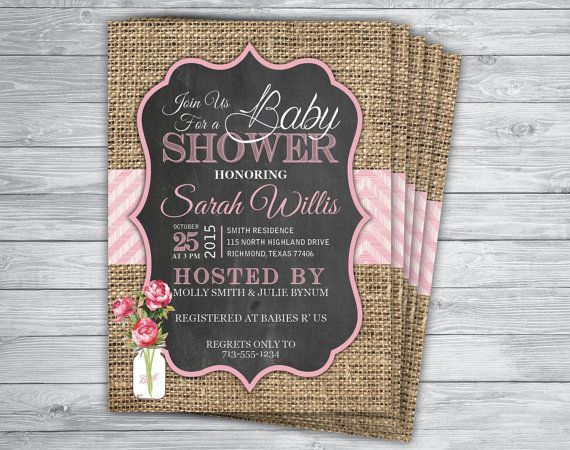 Any Event Color Pink Lemonade Baby Shower Birthday Party Invitation Printed Rose Lemon Sunflower Ch
