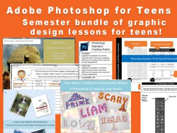 photoshop assignments for high school students
