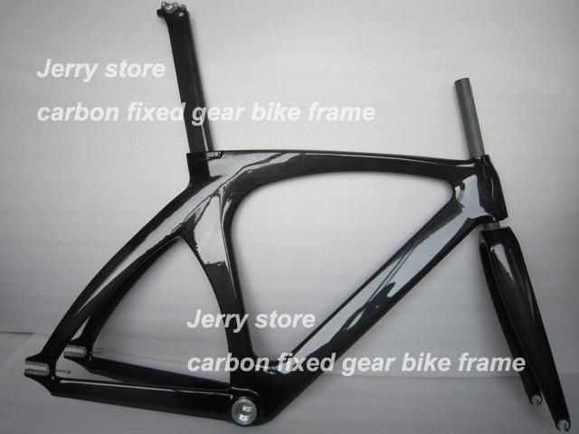 full carbon fiber bike frame,track and fixed gear single speed with ...