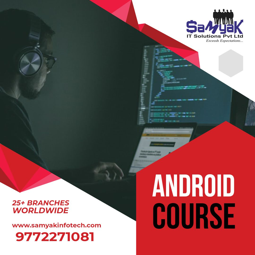 Android Course In 2020 Computer Class App Development Training And Development
