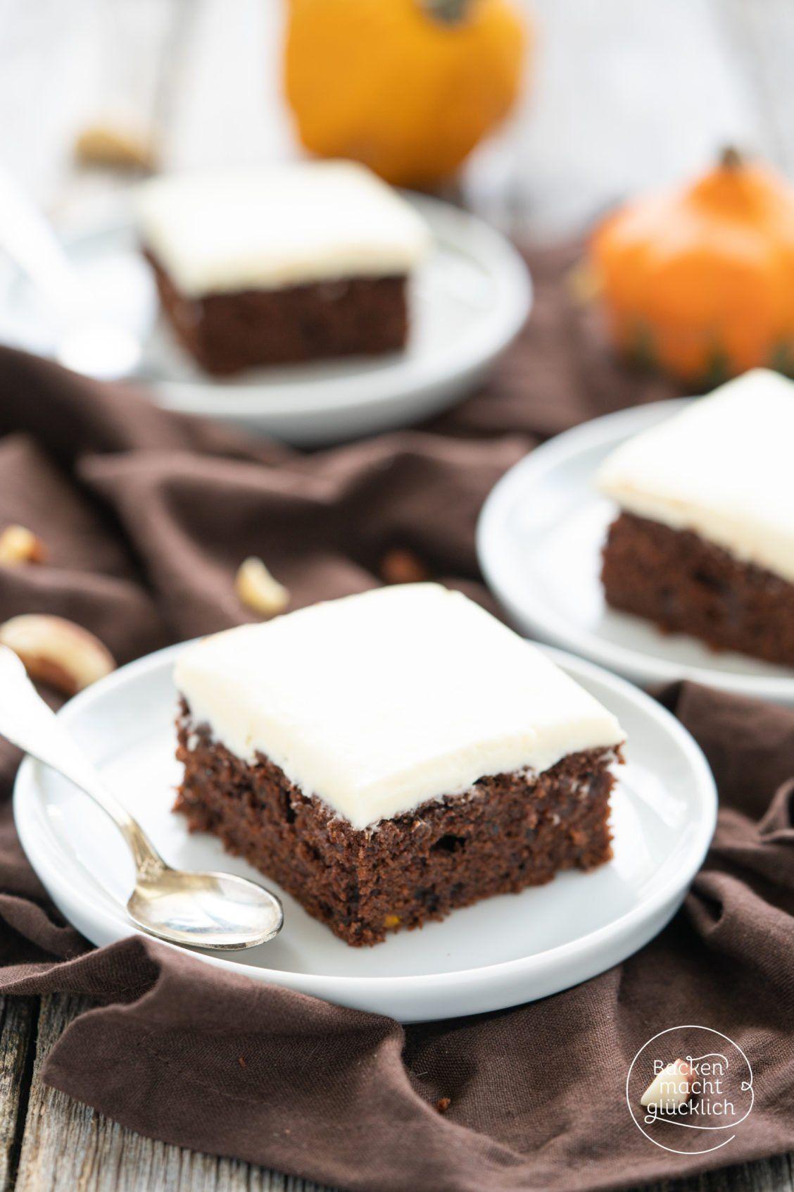 Saftiger Kurbis Schoko Kuchen Backen Macht Glucklich Rezept Kuchen Ohne Backen Kurbiskuchen Rezepte Kuchen Und Torten