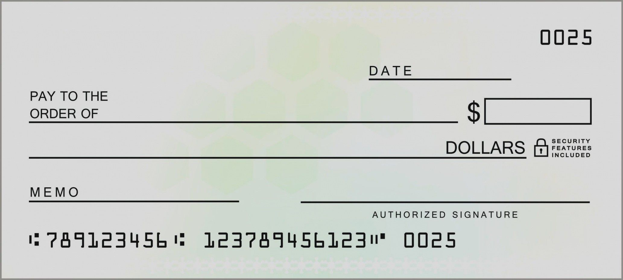 Amazing Fake Blank Check Template Word Free 10 Presentation Mychjp Blank Check Business Template Business Checks Large check for presentation template