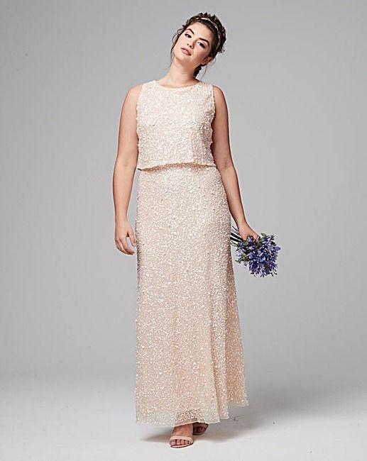 Joanna Hope Sequin Maxi Dress | Simply Be