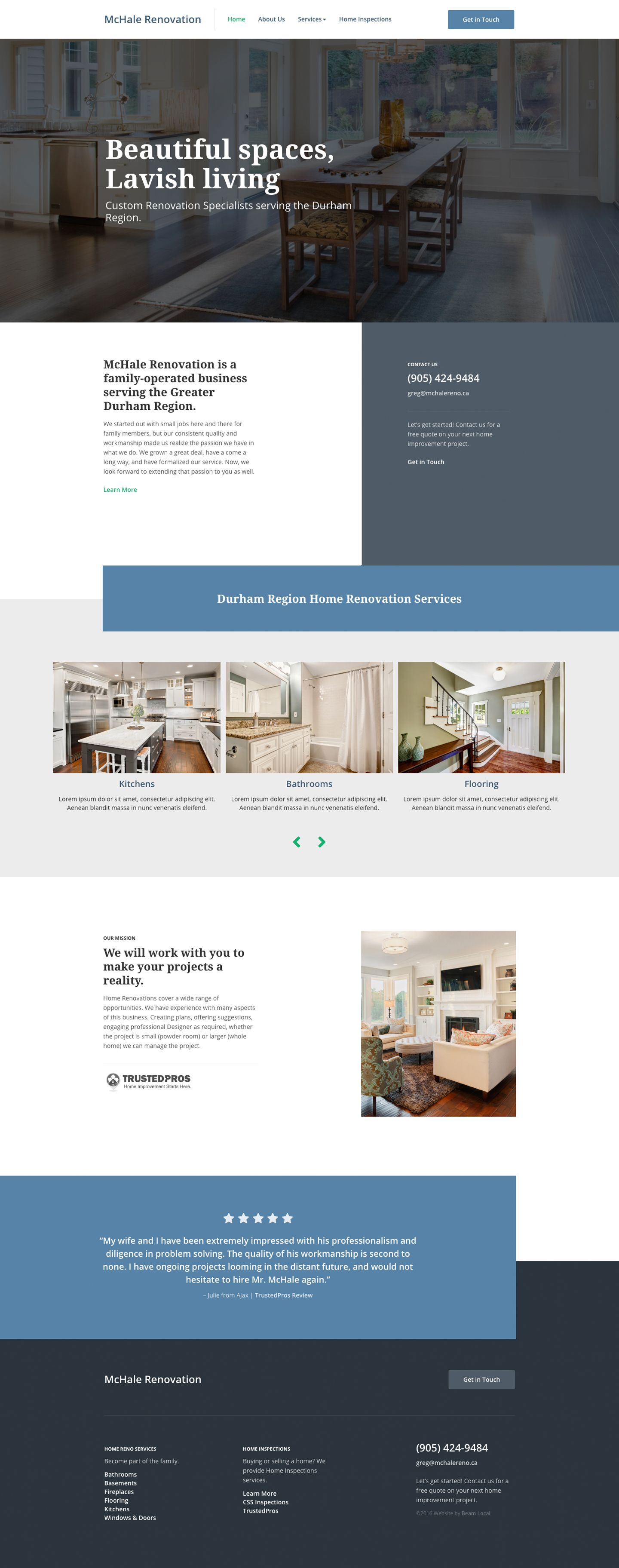 Looking For Top Trends In Contractor Website Designs Want To Know What Makes A Good Construction Business Website Design Squarespace Design Simple Web Design