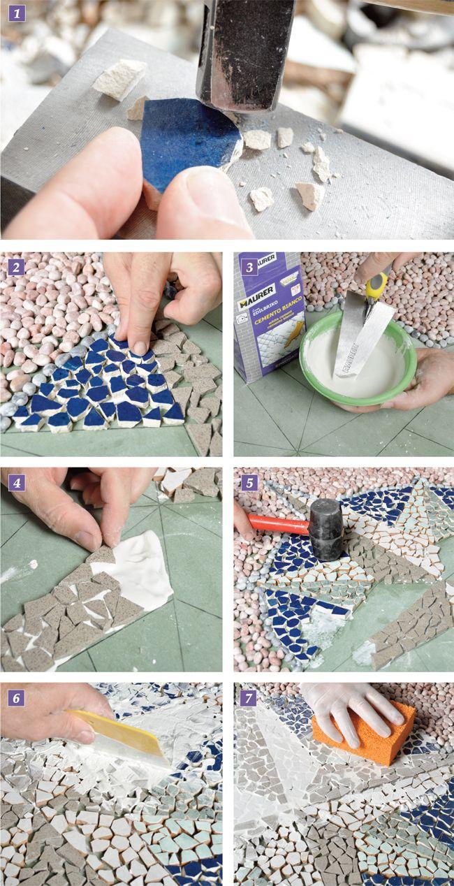Come Costruire Un Mosaico pin su cerámicas