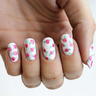 #Floral Manicure
