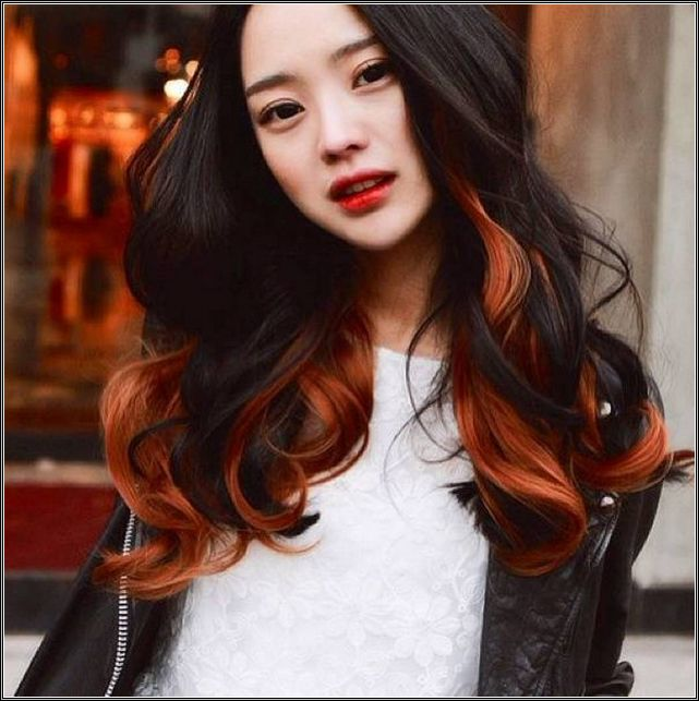 two toned hair color ideas for brunettes - Google Search | hair ...