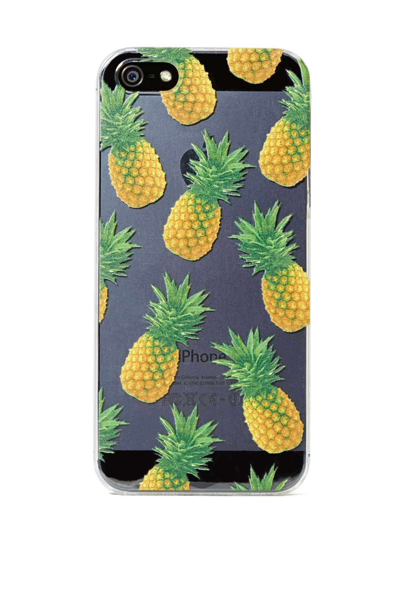 hot sale online c1b2d 2722e Skinnydip London Pineapple iPhone 5 Case | Shop Home at Nasty Gal ...