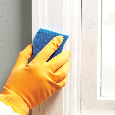 How To Clean Surfaces With Tsp Room Paint Tsp Cleaner Cleaning Walls