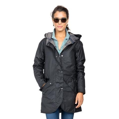 barbour coll waxed jacket