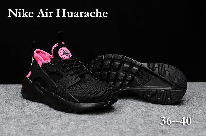 Nike Huarache Sneakers adidas, fashion, and girls   Pink and black ...