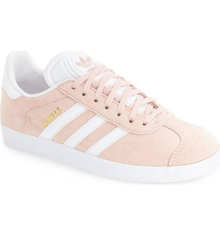 adidas frauen ist rosa gazelle turnschuhe