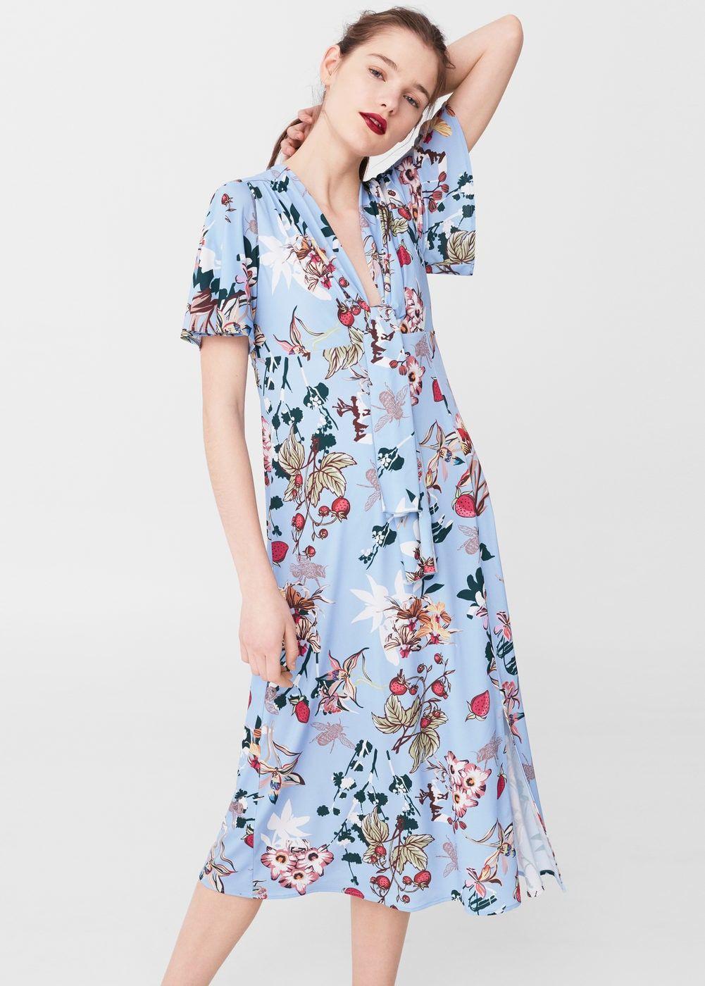 00bd17cb4 Floral-print flowy dress - Women in 2019